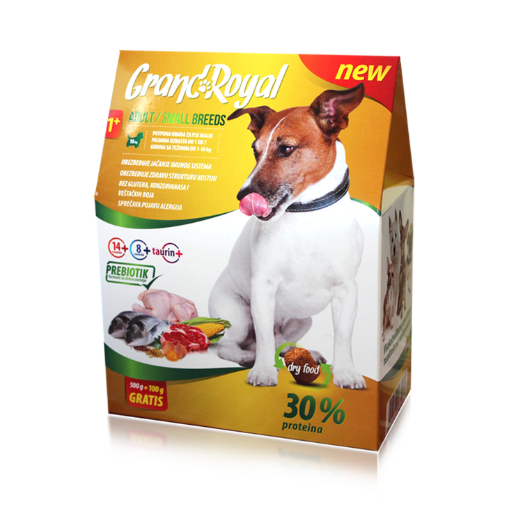 Cat & Dog food packaging